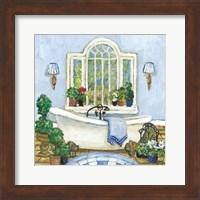 Framed Pampered Bath I