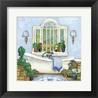 Framed Pampered Bath I