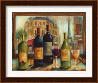 Framed Bistro de Paris