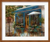 Framed Anna's Corner Flower Shop