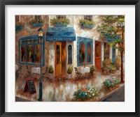Framed Le Petit Cafe