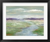 Meadow Stream I Framed Print
