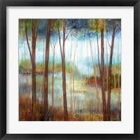 Soft Forest II Framed Print