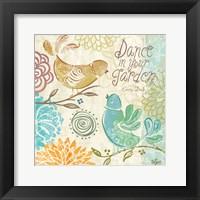 Bird Chirp II Framed Print