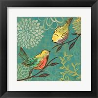 Framed Elegant Chickadee I