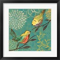 Elegant Chickadee I Framed Print