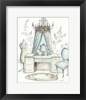 Framed French Dressing Room I