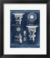 Framed Vintage Blueprints I