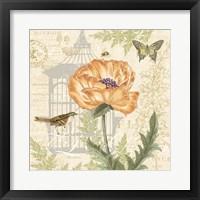 Floral Nature Trail I Framed Print