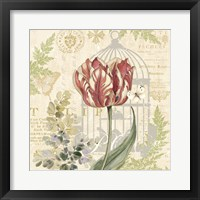 Floral Nature Trail II Framed Print