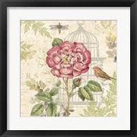 Floral Nature Trail IV Framed Print