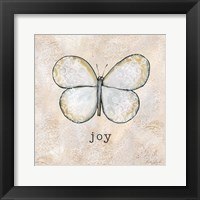 Butterfly Expressions I Framed Print