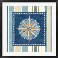 Framed Nautical Stripe I