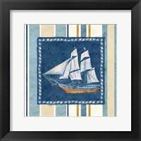Nautical Stripe II Framed Print