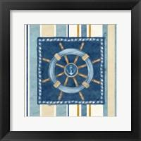 Nautical Stripe IV Framed Print