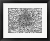 Framed Environs London Gray