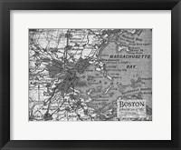 Framed Environs Boston Gray