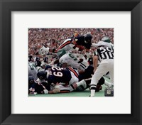 Framed Walter Payton 1986 Action