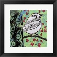 Framed Bird Song 1