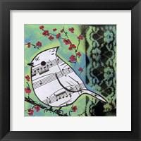 Framed Bird Song 2