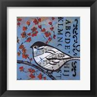 Framed Bird Song 4