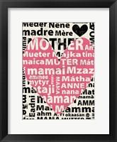 Framed Mother Languages 1