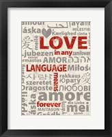 Framed Love Lanquages 3