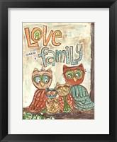 Framed Love Family