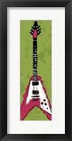Framed Electric Guitar