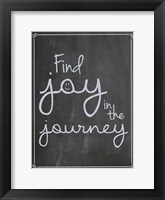 Framed Find Joy In Journey