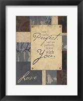 Love Inspirational 2 Framed Print