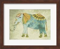 Framed Indian Elephant