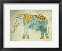 Framed Indian Elephant
