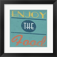 Enjoy Framed Print