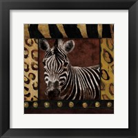 Framed Zebra With Border
