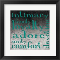Family 2 Framed Print