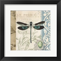 Cart Dragonfly Framed Print