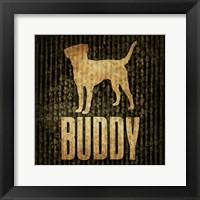 Framed Buddy (black background)