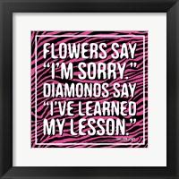 Framed Diamonds