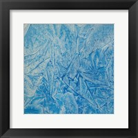 Framed Blue Abstract C