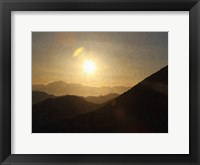 Sunrise II Framed Print