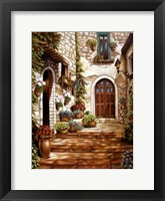 Framed Italian Alley