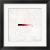 Triangle Strip Mate Framed Print