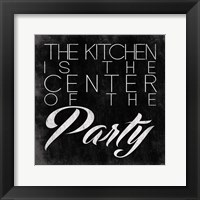 Kitchen I Framed Print