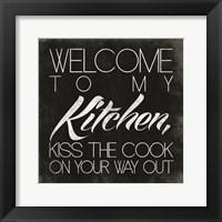 Kitchen II Framed Print