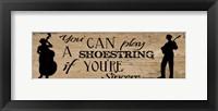Framed Shoestring