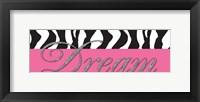Dream Glitter Framed Print