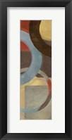 Halo Weave IV Panel Framed Print
