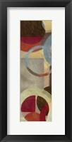 Halo Weave VI Framed Print