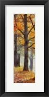 Framed Amber Trail Panel II